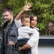 Alicia Keys amincie : elle ne se sépare pas de son fils Egypt, même en promo !