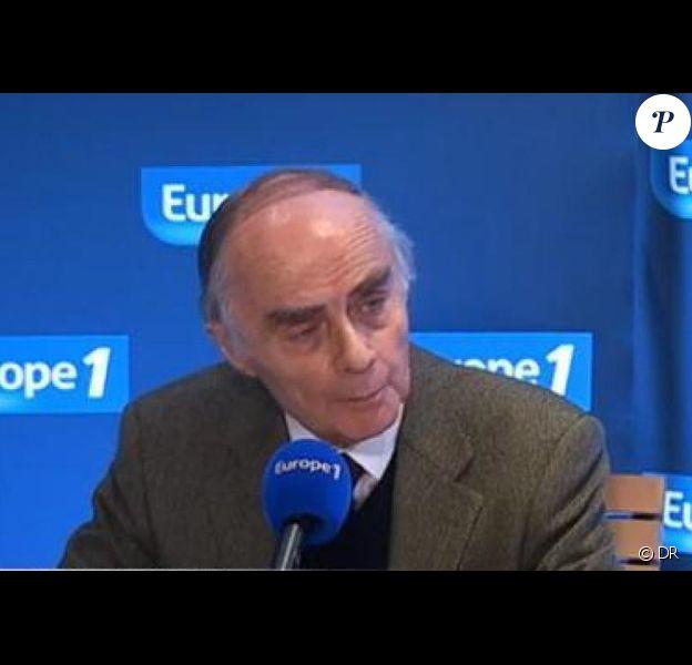 Jean-Claude Delarue sur Europe 1, en septembre 2012.