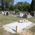 Jean-Luc Delarue a été enterré au cimetière de Thiais, fin août 2012. Photo exclusive.