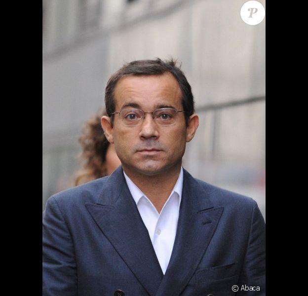 Jean-Luc Delarue, en octobre 2008 à Paris.