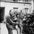 Claude Pinoteau avec Sophie Marceau en 1982 : le réalisateur de La Gifle et La Boum est mort le 6 octobre 2012 à Neuilly à l'âge de 87 ans, des suites d'une longue maladie.