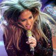 Jennifer Lopez sur le plateau de l'émission  Wetten Dass , à Dusseldorf, en Allemagne, le samedi 6 octobre 2012.