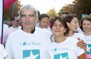 Estelle Denis et Raymond Domenech unis pour lutter contre le cancer du sein