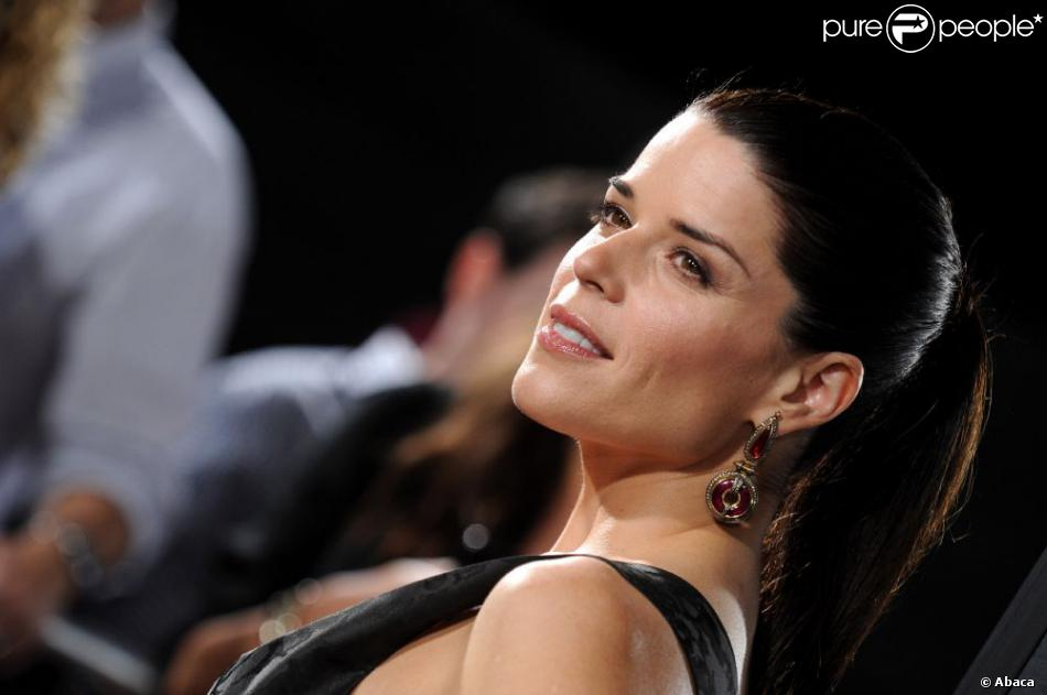 Neve Campbell à la première de  Scream 4  à Los Angeles, avril 2011.