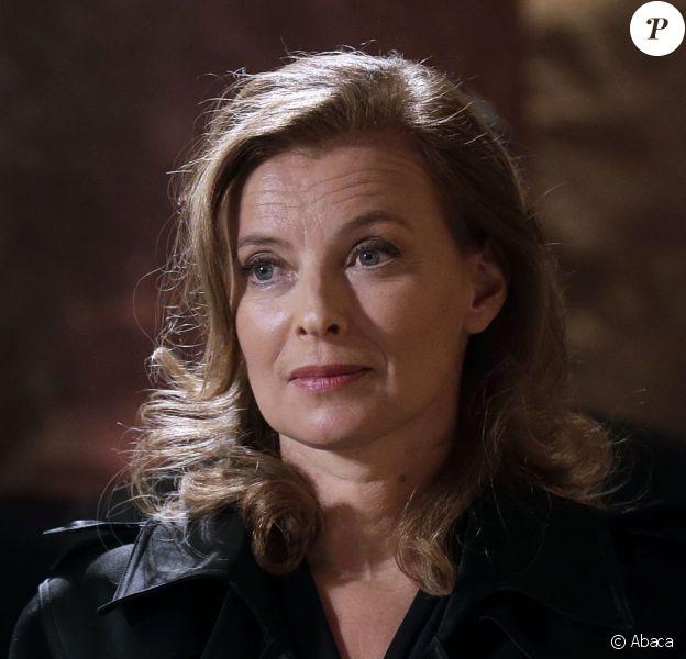 Valérie Trierweiler à Paris, le 9 octobre 2012.