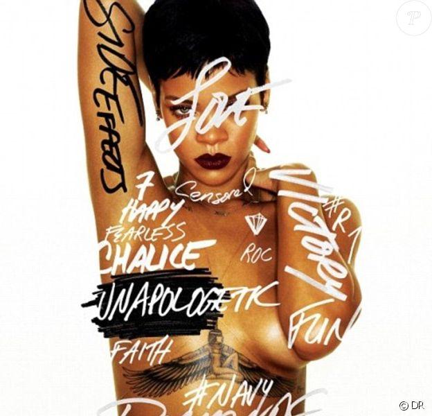 Rihanna, visuel de son album Apologetic