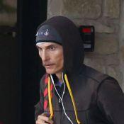 Matthew McConaughey, terriblement maigre : Il continue le sport