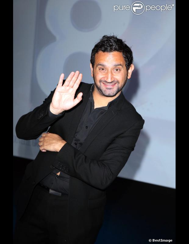 Cyril Hanouna à Paris en septembre 2012.