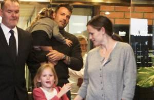 Jennifer Garner avec Ben Affleck et leurs filles : Elle se laisse encore aller