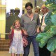 Jennifer  Garner et Ben Affleck emmènent Seraphina et Violet déjeuner à Brentwood . Le 13 octobre 2012.