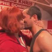Danse avec les stars 3 - Emmanuel Moire et Fauve : le bisou !