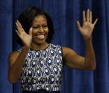 Michelle Obama le 16 octobre 2012 à l'Université de North Carolina à Chapel Hill