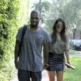 Kanye West et Kim Kardashian à Miami, le 8 octobre 2012.