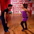 Amel Bent et Christophe dans Danse avec les stars 3 le samedi 20 octobre 201é