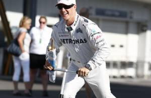 Michael Schumacher : De la F1 au rodéo sur les conseils de madame...