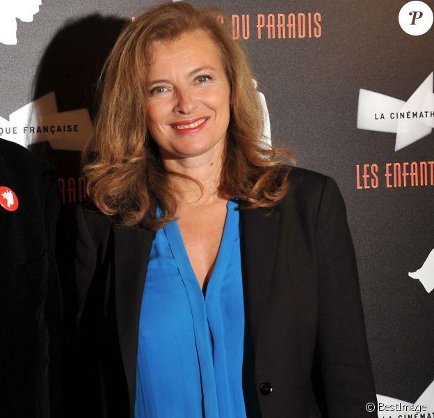"""Valerie Trierweiller - Vernissage de l'exposition """"Les Enfants du Paradis"""" a la cinematheque de Paris le 22 Octobre 2012.22/10/2012 - Paris"""