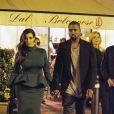Kim Kardashian et Kanye West en Italie pour célébrer l'anniversaire de la belle brune. Week-end du 18 octobre 2012