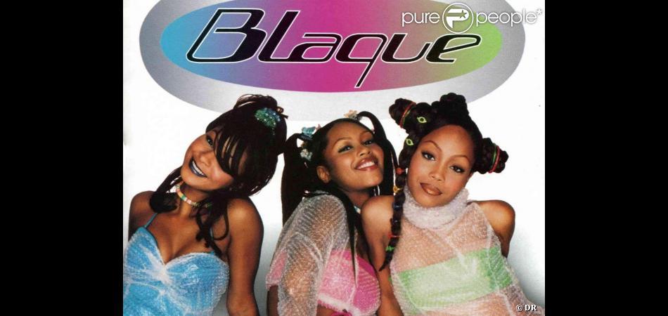 Natina Reed (ici à gauche) en compagnie du groupe Blaque en 1998.