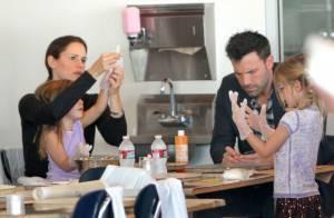 Jennifer Garner et Ben Affleck : Moment tendre et gourmand avec leurs filles