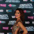 Karima Charni à la soirée Starfloor 2012, avec Fun Radio, le 20 octobre à Paris-Bercy.