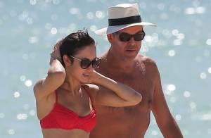 Olga Kurylenko : Ultrasexy en bikini, elle profite de son amoureux à Miami