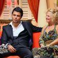 Rachel et David dans Qui veut épouser mon fils ?, saison 2 le vendredi 2 novembre 2012 sur TF1