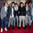 Le groupe One Direction à Londres le 11 novembre 2010.