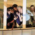 Les One Direction en promo à Madrid le 31 octobre 2012.