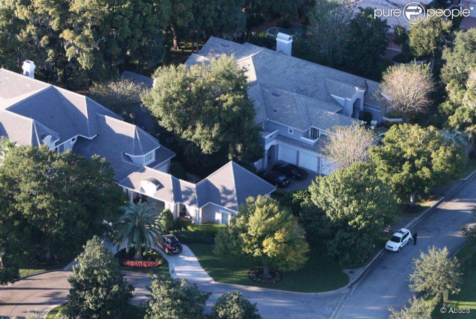 A Windermere, en Floride, la maison où habitaient Tiger Woods, Elin Nordegren et leurs deux enfants, Sam et Charlie. En novembre 2012, le site TMZ.com indique que le golfeur y fait des travaux.