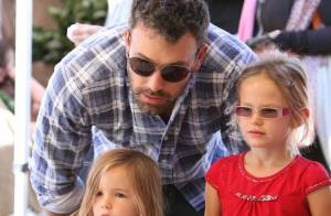 Ben Affleck : Un papa poule en tête à tête avec Violet et Seraphina
