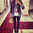 Shy'm dévoile quotidiennement ou presque son look du jour sur son compte Instagram