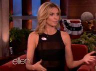 Heidi Klum évoque son nouvel amour et ironise sur The Bodyguard