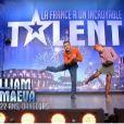 William et Maëva dans La France a un incroyable talent