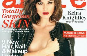 Keira Knightley : Topless pour 'Allure', elle assume ses tout petits seins