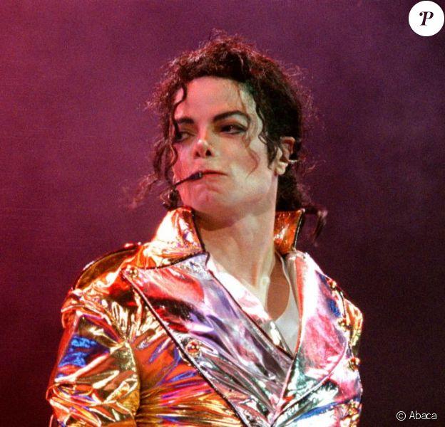 Michael Jackson en concert à Prague le 7 septembre 1996