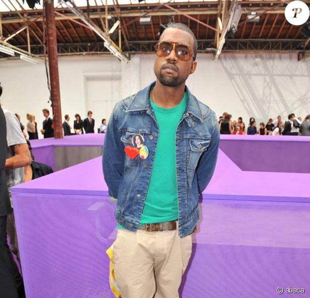 Kanye West au défilé Louis Vuitton
