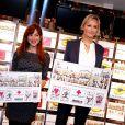 Adriana Karembeu continue de soutenir la Croix-Rouge française. Elle participait le 14 novembre 2012 à la présentation du nouveau bloc de 5 timbres édité par la Poste, et dessinés par Pénélope Bagieu.