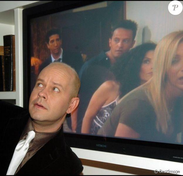 James Michael Tyler, alias Gunther, à Paris le 23 novembre 2004, pour le lancement du coffret DVD de Friends