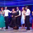 """Septième prime time de """"Danse avec les stars 3"""", sur TF1, le 17 novembre 2012. Les candidats encore en lice au grand complet !"""
