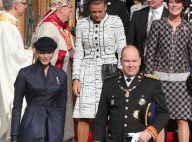 Fête nationale Monaco : Charlene lookée, Charlotte discrète, Te Deum en famille