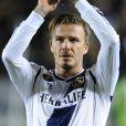 Clap de fin pour David Beckham à Los Angeles : l'Anglais quittera les Galaxy après la finale du championnat, qui sera également son dernier match. Los Angeles, le 11 novembre 2012.