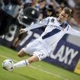 Le coup de patte légendaire de David Beckham manquera certainement aux Los Angeles Galaxy, qu'il quittera à l'issue de la saison. Los Angeles, le 4 novembre 2012.
