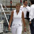 Athina Onassis au jumping International de Monaco