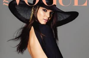 Kendall Jenner, 17 ans : Petite soeur de Kim Kardashian, déjà star de Vogue