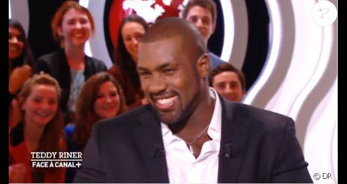 teddy riner tait l 39 invit exceptionnel du petit journal de yann barth s le 27 novembre 2012 sur. Black Bedroom Furniture Sets. Home Design Ideas