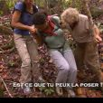 Elodie blessée dans Koh Lanta Malaisie, vendredi 30 novembre 2012 à TF1