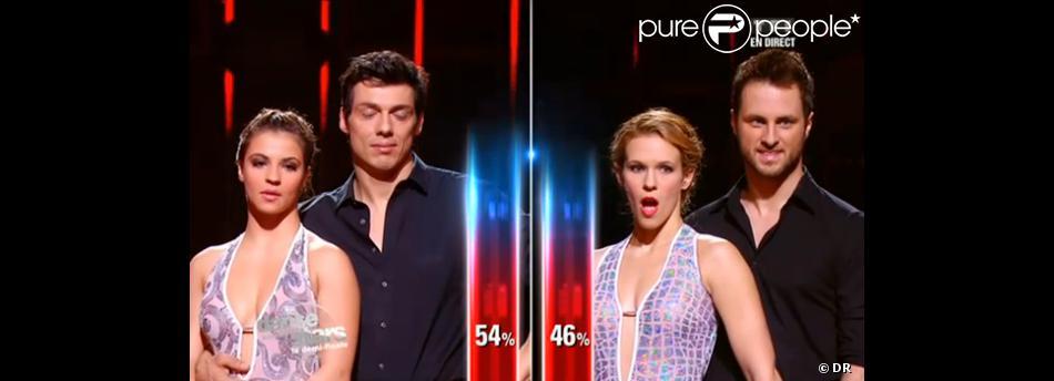 Lorie éliminée et choquée du résultat de Danse avec les stars 3 le samedi 24 novembre 2012 sur TF1