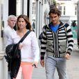 Roger Federer et Mirka le 19 juin 2012 à Londres.