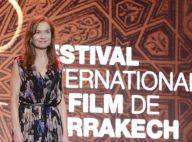 Isabelle Huppert ovationnée et étoilée devant un parterre de stars à Marrakech