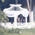 Mariage de Mario Lopez et de Courtney Mazza à Punta Mita au Mexique le 1er décembre 2012.